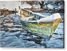 Frozen Dory Acrylic Print