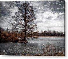 Frozen Lake Acrylic Print