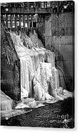 Acrylic Print featuring the photograph Frozen Power by Olivier Le Queinec