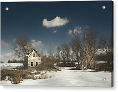 Frozen Stillness Acrylic Print