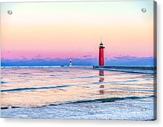 Frozen Sunset Acrylic Print