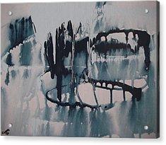 Frozen World Acrylic Print by Rivka Waas