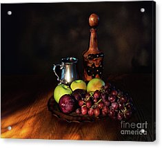 Fruit And Spirit Acrylic Print by Mark Miller