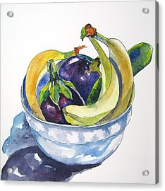 Fruit And Veggies Acrylic Print
