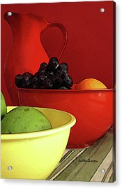 Fruit Art  Acrylic Print