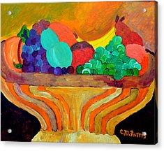 Fruit Bowl 1 Acrylic Print