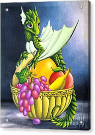 Fruit Dragon Acrylic Print