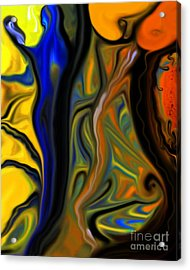 Fruit Acrylic Print by Misha Bean