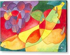 Fruit Montage Acrylic Print