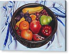 Fruit Of The Spirit Acrylic Print by Ilse Kleyn