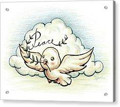 Fruit Of The Spirit Peace Acrylic Print