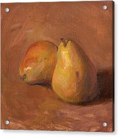 Fruit Of The Spirit- Pear 1 Acrylic Print by Timothy Chambers