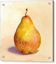 Fruit Of The Spirit- Pear 3 Acrylic Print by Timothy Chambers