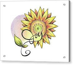 Fruit Of The Spirit Series 2 Joy Acrylic Print