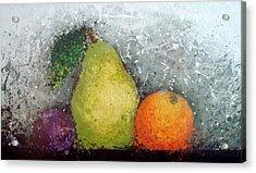 Fruit Acrylic Print by Paula Weber