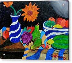 Fruitful Still Life Acrylic Print