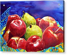 Fruitfully Yours Acrylic Print by Gerald Carpenter