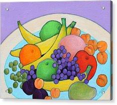 Fruitilicious Acrylic Print by Lorraine Klotz