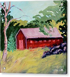 Acrylic Print featuring the painting Fruitlands Iv by Priti Lathia
