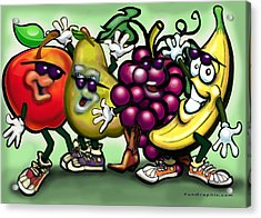 Fruits Acrylic Print by Kevin Middleton