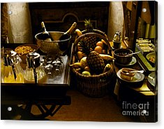 Fruits Of France Acrylic Print by Madeline Ellis