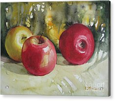 Acrylic Print featuring the painting Fruits Of The Earth by Elena Oleniuc