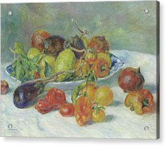 Fruits Of The Midi Acrylic Print by Pierre Auguste Renoir