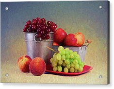 Fruits On Centerstage Acrylic Print