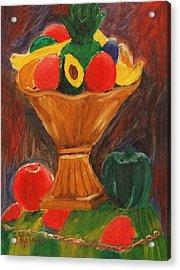 Fruits Still Life Acrylic Print