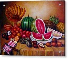 Fruits Acrylic Print by Yuki Othsuka
