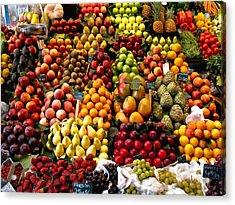 Fruitstand Acrylic Print