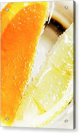 Fruity Drinks Macro Acrylic Print by Jorgo Photography - Wall Art Gallery
