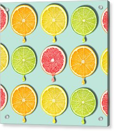 Fruity Acrylic Print by Mark Ashkenazi