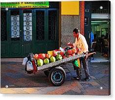 Acrylic Print featuring the photograph Fruta Limpia by Skip Hunt