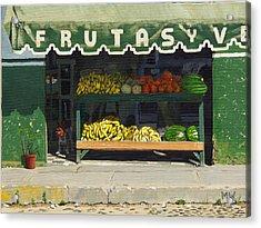 Frutas Y Acrylic Print by Michael Ward