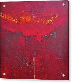 Fuego Acrylic Print by Filomena Booth