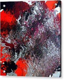 Acrylic Print featuring the painting Fuel by Cyryn Fyrcyd