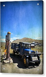 Fuelin' Up Acrylic Print by Laurie Search