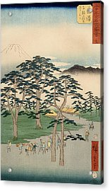 Fujisawa From The Series Fifty Three Stations Of The Tokaido Acrylic Print