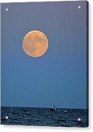 Full Blood Moon Acrylic Print