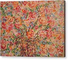 Full Bouquet. Acrylic Print