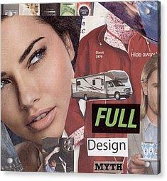 Full Design Myth Acrylic Print by Chaperone Picks