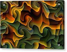 Full Frills Acrylic Print