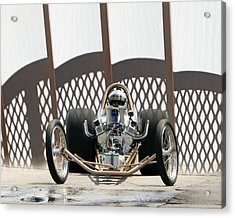 Full Frontal Slingshot Acrylic Print by Christopher McKenzie