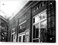 Full Moon Cafe Acrylic Print