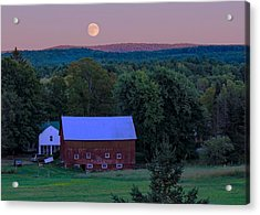 Full Moon From High Street Acrylic Print