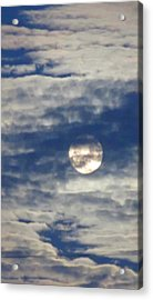 Full Moon In Gemini With Clouds Acrylic Print