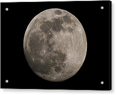 Acrylic Print featuring the photograph Full Moon by Nathan Rupert