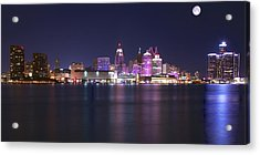 Full Moon Panorama Acrylic Print by Frozen in Time Fine Art Photography