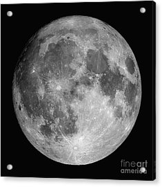 Full Moon Acrylic Print by Roth Ritter